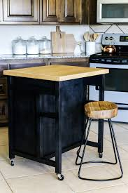Kitchen Island Cart Plans by Diy Rolling Kitchen Island