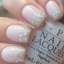12 gel french tip glitter nail art designs u0026 ideas 2016 fabulous