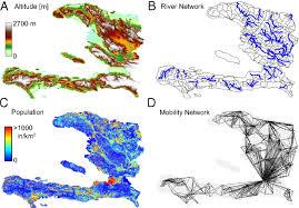 Haiti Map Reassessment Of The 2010 U20132011 Haiti Cholera Outbreak And Rainfall