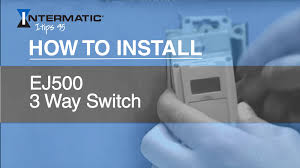 Defiant Timers Dimmers Switches U0026 by How To Install The Ej500 Three Way Timer Switch Youtube