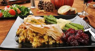 a healthy thanksgiving meal hour by hour