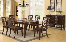 rustic cherry rectangular table formal dining room set ashley