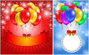 cards with air balloons vector vector graphics blog