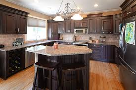 Black Walnut Kitchen Cabinets Walnut Kitchen Cabinets Brown Walnut Portable Island With Granite