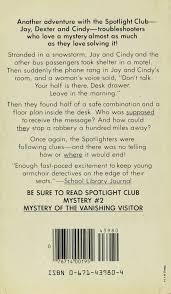 mystery of the midnight message spotlight club mysteries ser no