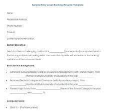 sample resume for bank jobs for freshers sample bank teller resume