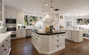 kitchen dazzling awesome lighting cabinet wooden laminated floor