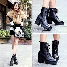 womens style boots nz s shoes nz amigirl fashion sale leather chunky heel