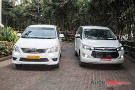 toyota innova 2016 toyota innova crysta launch price specs photos videos