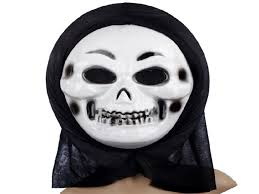 Plastic Halloween Skeletons Halloween Plastic Mask For Fashion Party Scary Horror Mask