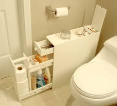 Creative Storage Idea For A Small Bathroom Organization - Bathroom furniture for small spaces