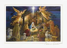 personalized boxed christmas cards nativity religious christmas cards
