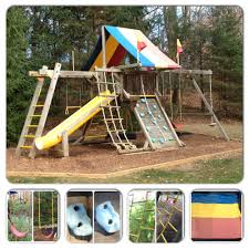 Rainbow Playset To Rehab A Redwood Swing Set All About The House