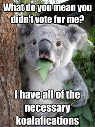 Vote For Me Meme - what do you mean you didn t vote for me i have all of the