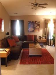 Spectacular Idea Brown And Red Living Room Incredible Decoration - Brown living room decor