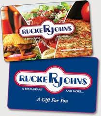 gift cards for restaurants ruckerjohns cards