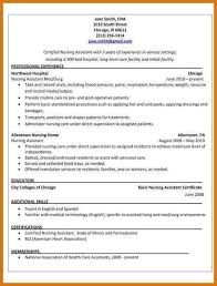Resume Of Nursing Assistant Cna Resume Sample Unforgettable Nursing Aide And Assistant Resume