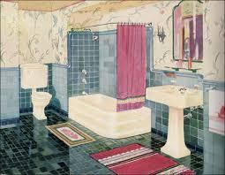Yellow And Pink Bathroom 1929 Wolff Bathroom Plumbing Fixtures Ivory Green Pink