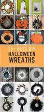 halloween wreath decorations 75 best diy halloween wreaths prudent penny pincher