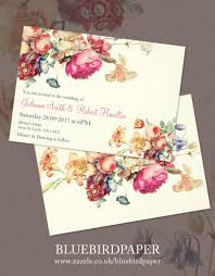 antique garden a floral vintage wedding invitations 2460316