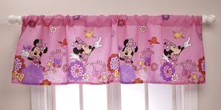 Mickey And Minnie Window Curtains by Amazon Com Disney Minnie Fluttery Friends Window Panel And