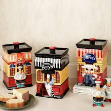 Rooster Kitchen Canisters Chef Decor For Kitchen Fat Statues Baker Kitchens Figurines