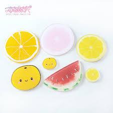 buy resin watermelon slices of lemon pomegranate acrylic
