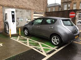 nissan leaf charging points ian cameron on twitter