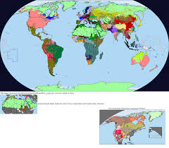 World Language Map by Linguistic Map Thread Alternate History Discussion
