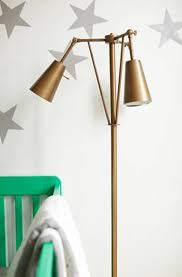 baby nursery good idea for baby room idea of brass floor lamp