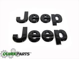 jeep black emblem 14 17 jeep wrangler front grille glossy black jeep emblem