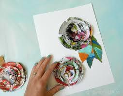 mail flowers grow creative junk mail flower tutorial