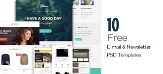 email marketing templates archives free psd files