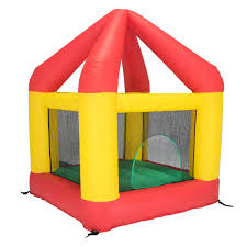 bazoongi 6 25 u0027 x 6 u0027 bounce house with open roof without cover