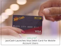 debit card for jazzcash launches visa debit card for mobile account users jpg