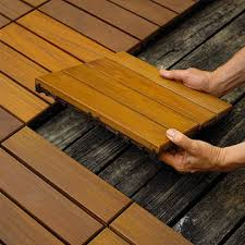 10 easy to install decking tiles