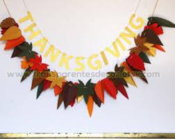 thanksgiving garland etsy