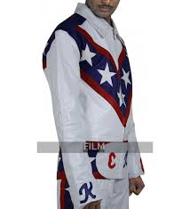 white motorcycle jacket knievel daredevil white biker leather pants