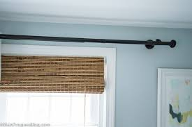 How Wide To Hang Curtains How To Hang Curtains Simple Tips For A Bigger And Brighter Room