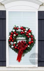 window wreaths diy christmas window wreaths paint yourself a smile