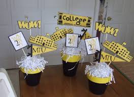 Pinterest Graduation Party Decorations by Homemade Graduation Centerpieces Table Grad Party Ideas