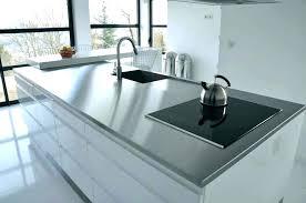 bandeau inox pour cuisine tole inox pour cuisine cuisine inox particulier meuble de plaque