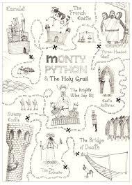 Map Python Yakir Naftali Motion Design Monty Python U0026 The Holy Grail