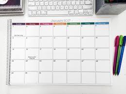 minion desk calendar 2017 desk monthly calendar arends producties