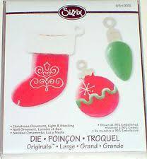sizzix ornament die ebay