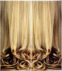 Hair Curtains Blond Curtaincooper Hewitt Smithsonian Design Museum Cooper