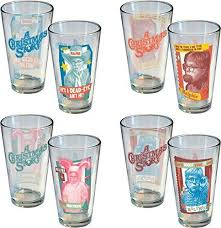 a story retro ralphie pint 4 pack glasses