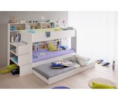 Bunk Bed With Mattresses Included 2 Bunk Twin Over Twin Bed With Trundle 2 Mattresses Included