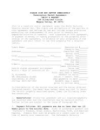 house lease agreement template house rental agreement contract