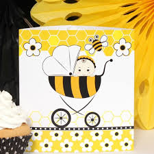 Bumble Bee Baby Shower Decorations